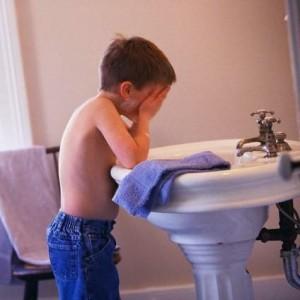 Как умывается ребенок